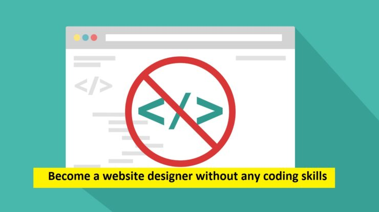 website designer without any coding