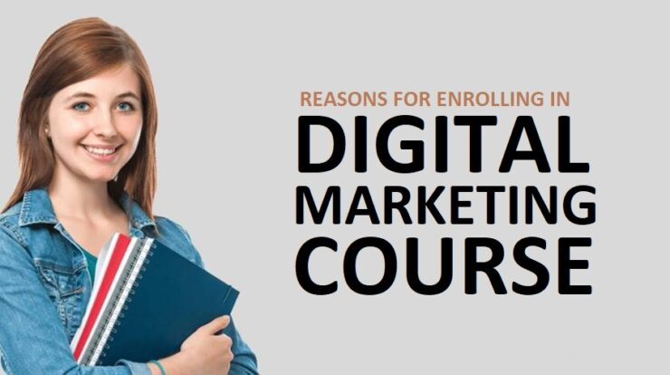 Reasons for enrolling in a digital marketing course