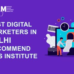 Best Digital Marketers in Delhi recommend this institute