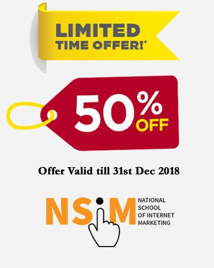 50 % Offer